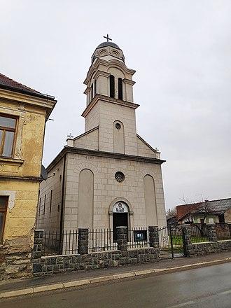 Glina, Croatia - Serbian Orthodox church in Glina