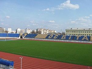 Стадион «Трудовые резервы», вмещает 13 500 зрителей