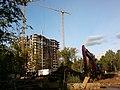 Строительство 22-х этажного дома 6 по Рогачевскому переулку. Вид с Селигерской. - panoramio.jpg