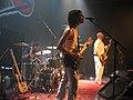 הפליינג בייבי בהופעה בהייניקן הבימה קלאב, ספטמבר 2005.JPG