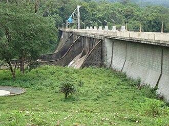 Peringalkuthu Dam - Shutter of Peringalkuthu Dam