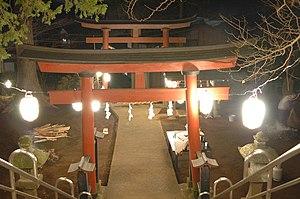 Ōmisoka - Shinto shrine on ōmisoka.