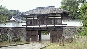 Komoro, Nagano - Gate of Komoro Castle