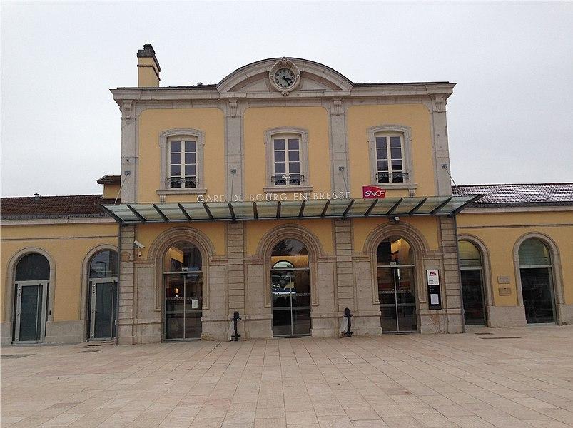 布昂佩斯站(布雷斯地区布尔格站)(Gare de Bourg-en-Bresse)
