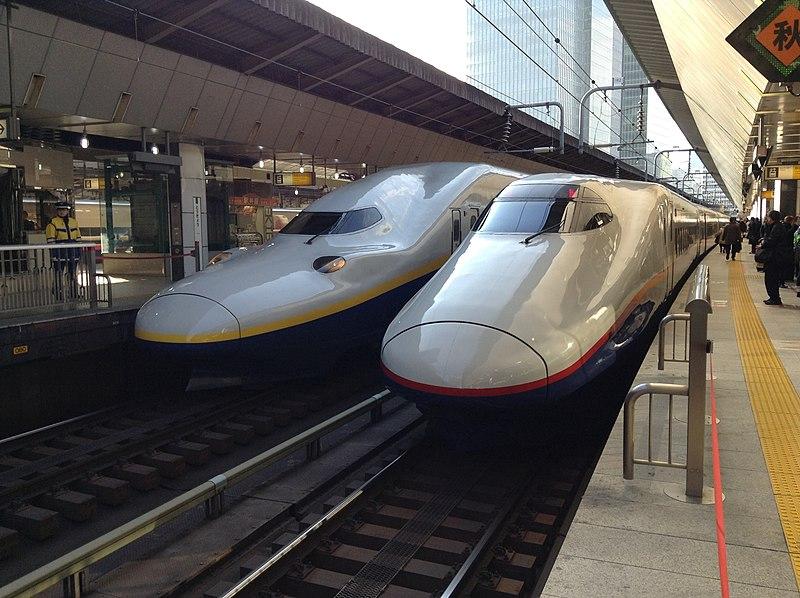 File:新幹線E2系とE4系 - 東京駅 - panoramio.jpg