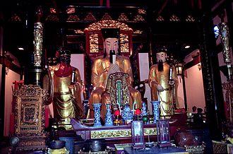 City God (China) - The Chenghuangshen of Shanghai.
