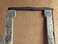 002 Perxe del carrer del Mig (Cabacés), mènsules de l'oratori romànic.JPG