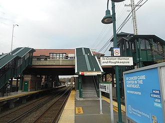 Ossining, New York (village) - Ossining's Metro-North Station, dates back to the days of New York Central Railroad.