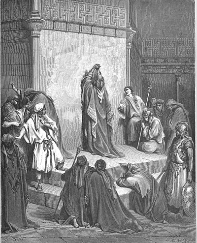 David mourning the death of Absalom, by Gustave Dore 081.David Mourns the Death of Absalom.jpg
