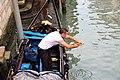 0 Venise, gondolier sur le Rio San Polo (3).JPG