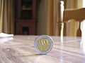 10-shekel coin standing on edge.jpg