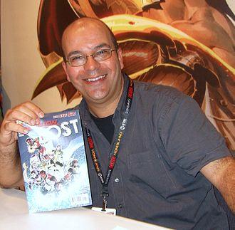 Fabian Nicieza - Nicieza at the 2011 New York Comic Con