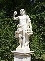 1001.Bacchus mit Füllhorn-Glocken Fontäne Rondell-Sanssouci Steffen Heilfort.JPG