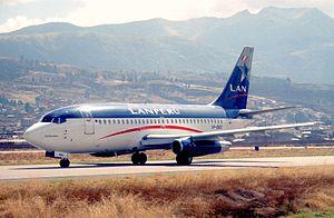 LATAM Perú - LAN Perú Boeing 737-200.