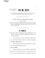 116th United States Congress H. R. 0000221 (1st session) - Special Envoy to Monitor and Combat Anti-Semitism Act A - Introduced in House.pdf