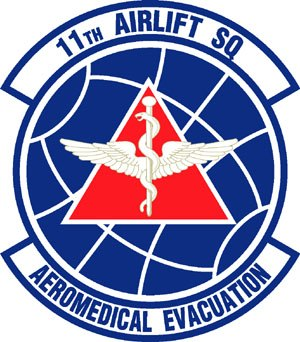 11th Airlift Squadron - 11th Airlift Squadron Patch