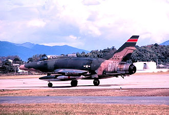 184th Intelligence Wing - 127th TFS F-100C Super Sabre 54-1913, 1968
