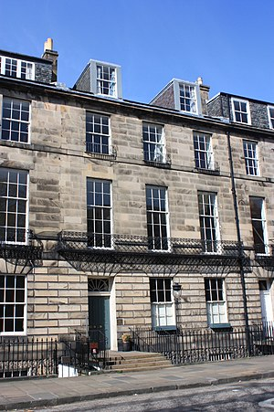 Alexander Campbell of Possil - 12 Abercromby Place, Edinburgh, Campbell's Edinburgh townhouse