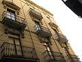 143 Edifici a la plaça Josep Pla, façana del c. Forn Nou.jpg