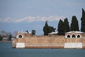 Isola di San Michele - Image: 150405 San Michele