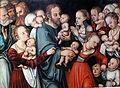 1538 Cranach d.Ä. Christus segnet die Kinder anagoria.JPG