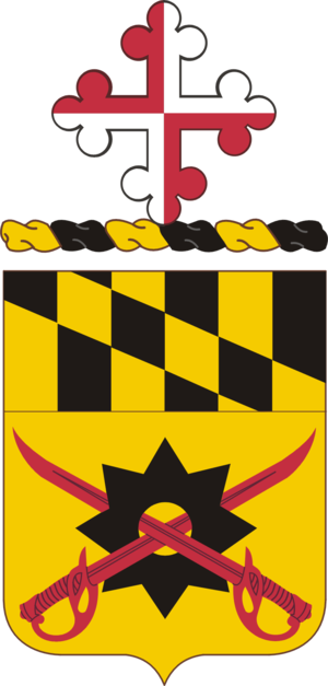 158th Cavalry Regiment (United States) - Coat of Arms of the 158th Cavalry