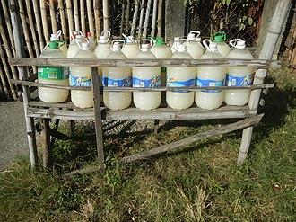 Nipa palm vinegar - Image: 1598Santo Niño Paombong Malolos City Bulacan 33