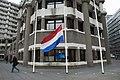 160324 Vlag halfstok na aanslagen Brussel Assaults Brussels flag at half-mast (25726670910).jpg