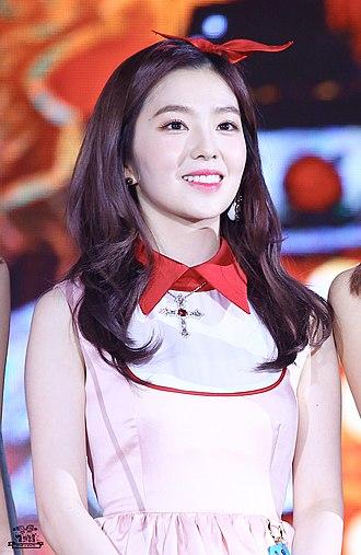 Music Bank (TV series) - Image: 161119 멜론뮤직어워드 아이린 Irene Bae 02