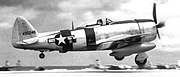 16th Fighter Squadron P-47D Thunderbolt 1946 Naha Air Base