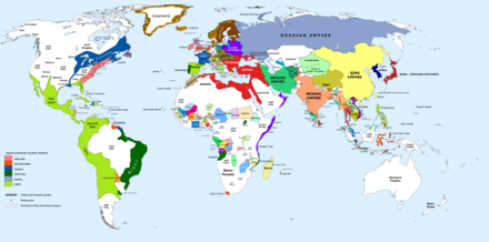 Political boundaries at the beginning of year 1700 1700 CE world map.PNG