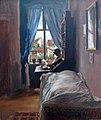 1847 Menzel Schlafzimmer Kuenstler Ritterstraße anagoria.JPG