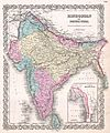 1855 Colton Map of India - Geographicus - India-colton-1855.jpg