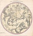 1856 Burritt - Huntington Map of the Stars ^ Constellations of the Northern Hemisphere - Geographicus - ConstNorth-burritt-1856.jpg