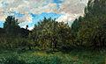 1876 Daubigny Französischer Obstgarten zur Erntezeit anagoria.JPG