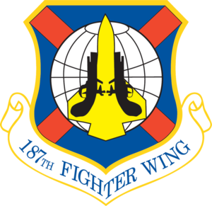 Montgomery Air National Guard Base - Image: 187th Fighter Wing