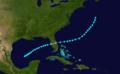 1892 Atlantic tropical storm 9 track.png