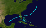 1892 Atlantic tropical storm 9 track.png