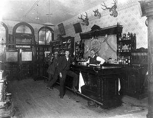 Bartender - Image: 1897 Saloon Blackhawk