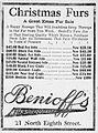 1913 - Benioff's Furs - 23 Dec MC - Allentown PA.jpg