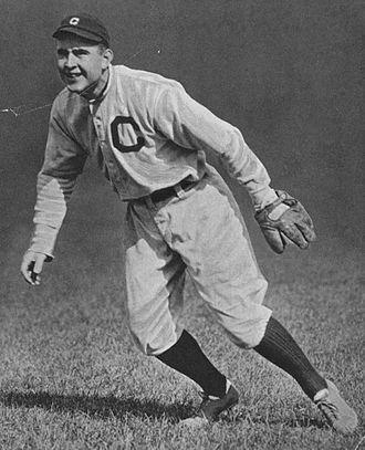 Joe Birmingham - Birmingham with the Cleveland Naps in 1913