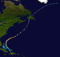 1923 Atlantic hurricane 5 track.png