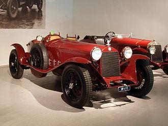 Alfa Romeo 6C - 6C 1750 Super Gran Sport Testa Fissa (1931)