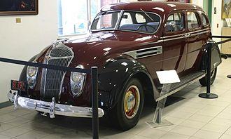 History of Chrysler - 1936 Chrysler Airflow Series C-9