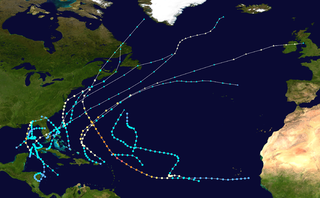 1953 Atlantic hurricane season hurricane season in the Atlantic Ocean
