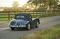 1957 Jaguar XK140 DHC (10559481375).jpg
