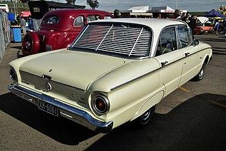Ford Falcon (XK) - Image: 1961 Ford XK Falcon Deluxe sedan (6045538110)