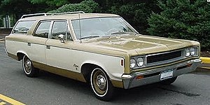 AMC Rebel - 1968 AMC Rebel 770 station wagon