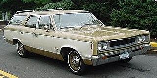 AMC Rebel Motor vehicle
