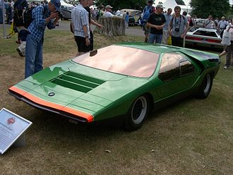 Scissor doors - The Alfa Romeo Carabo concept car was the first vehicle to use scissor doors